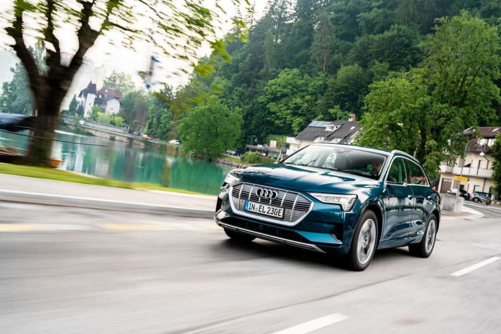 Der Audi eTron - exzellentes Ökomarketing