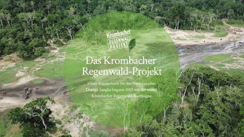 Das Krombacher Regenwald-Projekt
